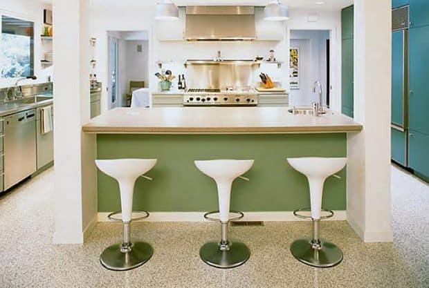 ideias de decoracao com verde na cozinha