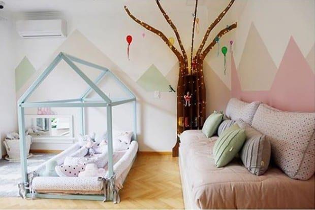 quarto de bebe dos famosos jose loreto e debora nascimento