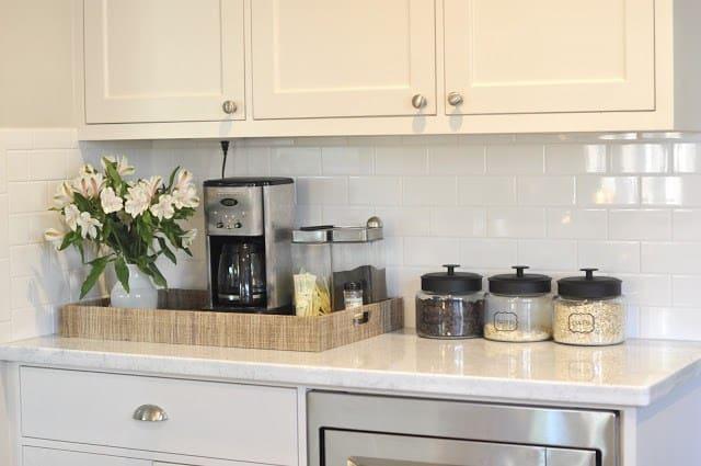 Ideia para arrumar o canto do café na cozinha