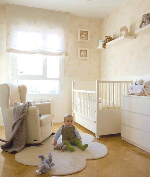 Quarto de bebê decoração neutra
