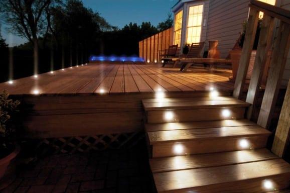 iluminar degraus da casa