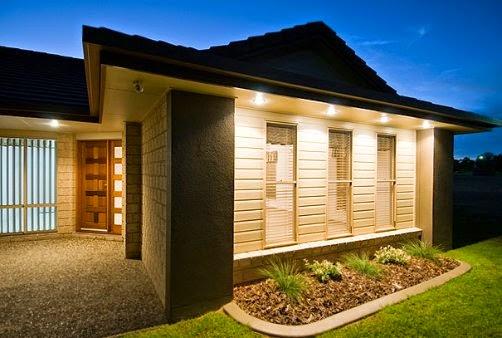 ideia para iluminar  casa simples