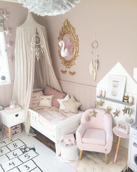 decorar quarto de menina princesa
