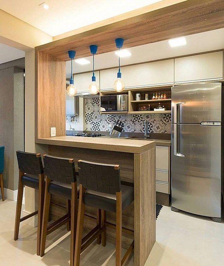 cozinha americana para apartamento