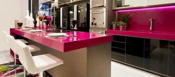 cozinha pequena decoracao rosa