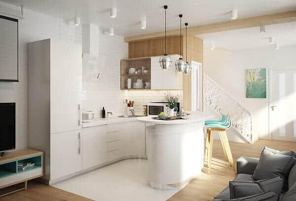cozinha pequena sob medida