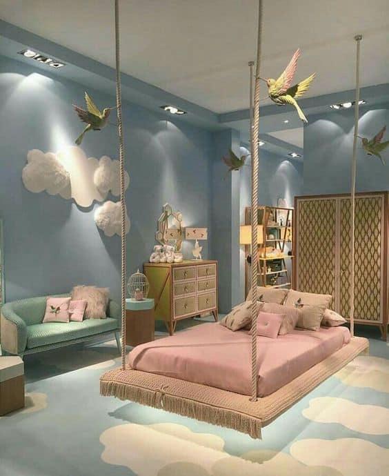 quarto dos sonhos decoracao ceu