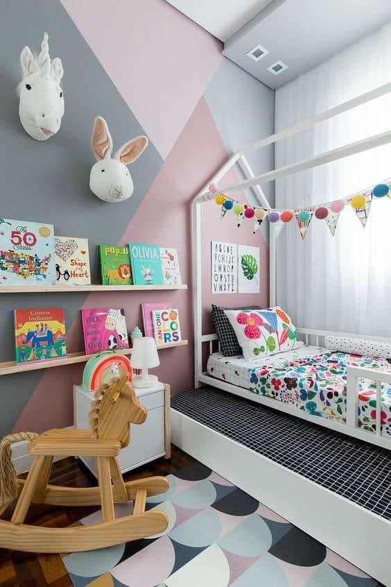 ideias para decorar quarto de menina
