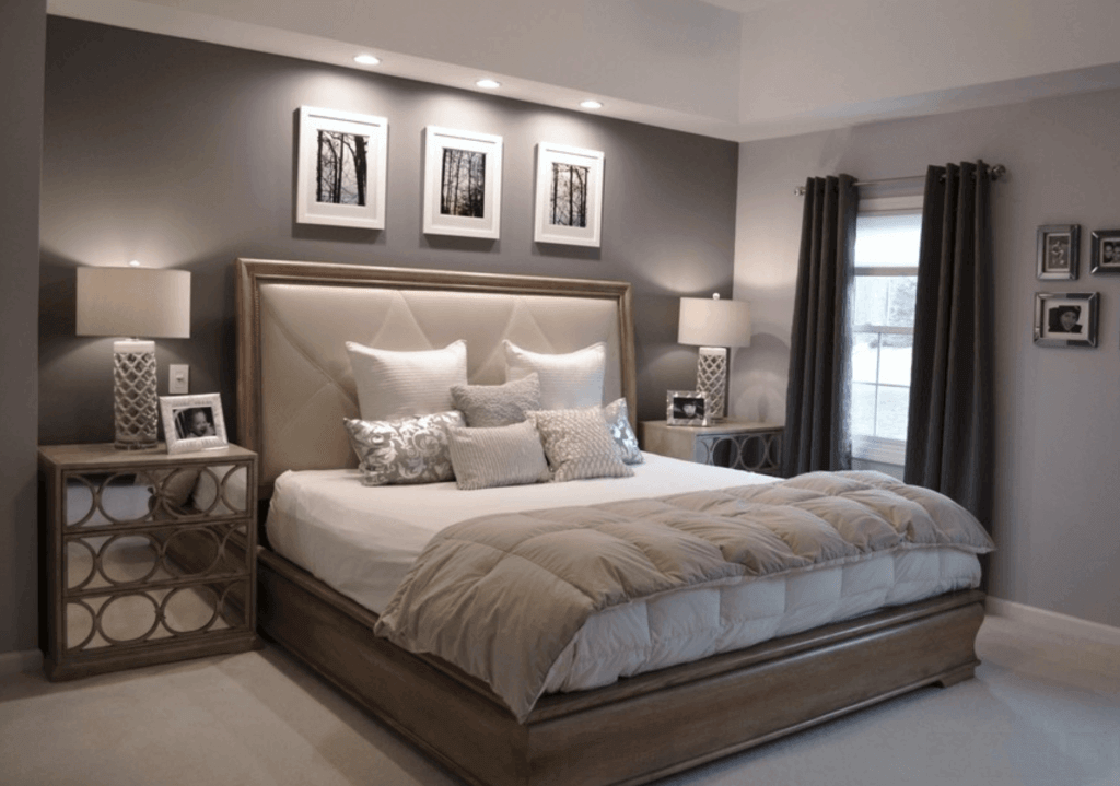Dormitório elegante e chic