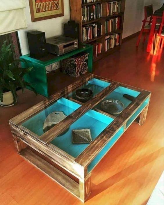 mesa de centro diferente DIY
