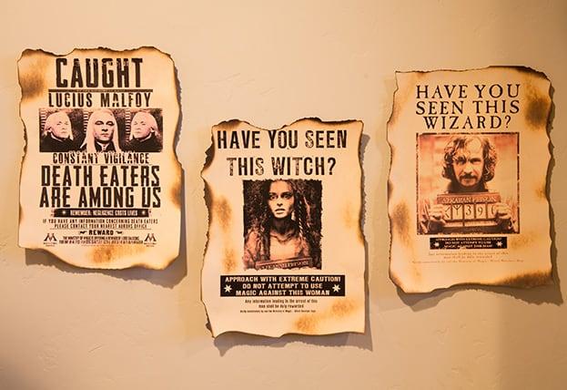 Poster de prisioneiros de Azkaban