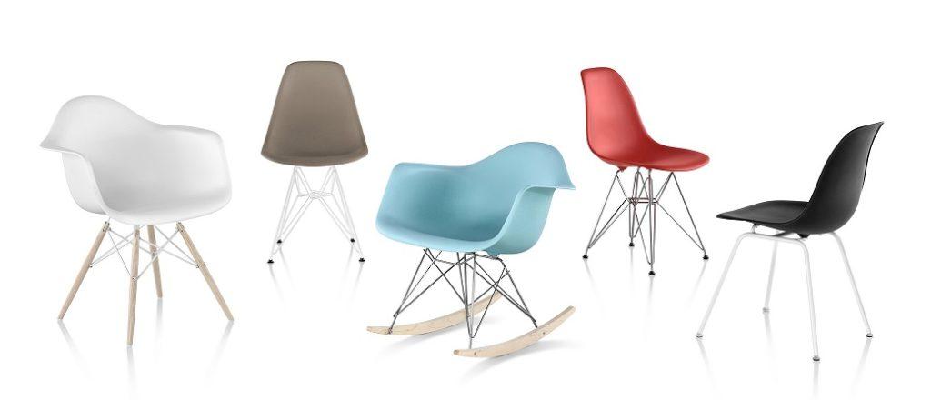 cadeiras charles eames eiffel e balanço modelos