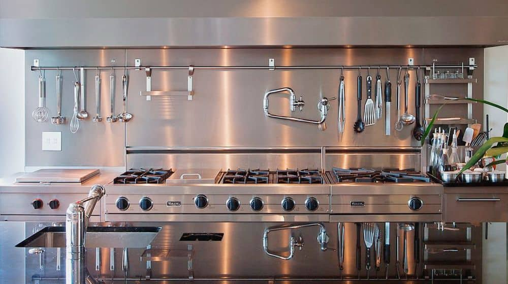 escolha dos utensilios de cozinha