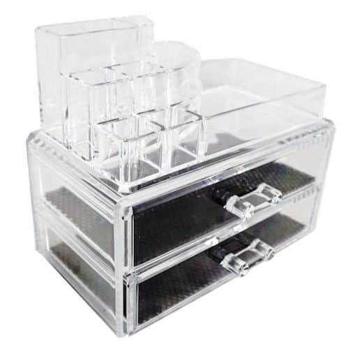 caixa de maquiagem de acrilico