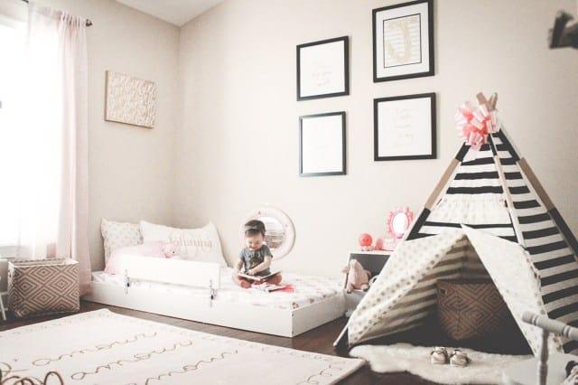 como montar a decoracao do quarto montessoriano do bebe
