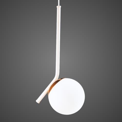 pendente bola de vidro moderna