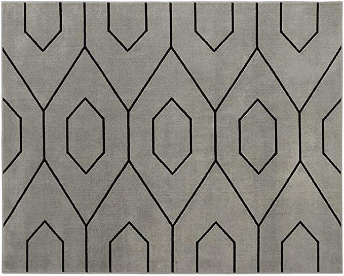 comprar tapete cinza online