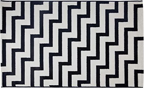 comprar online tapete preto e branco